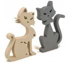 Szerelmes macska pár