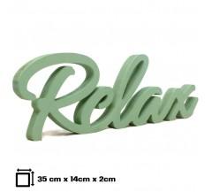 Relax álló felirat