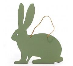Gyerekszoba dekoráció: Nyuszi tábla - amire krétával írhatsz