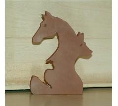 Ló-kutya-macska skandináv dekoráció