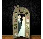 esküvői fénykép paraván