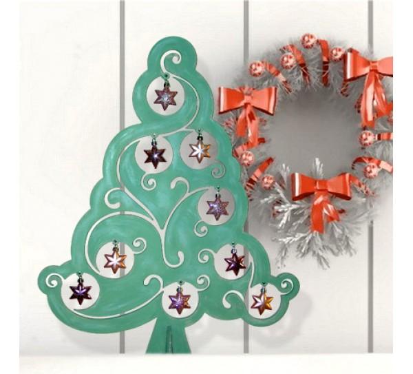 Csupaív karácsonyfa